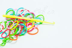 Bracelets made of gum Royalty Free Stock Photo