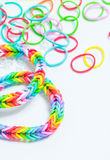 Bracelets made of gum Royalty Free Stock Image
