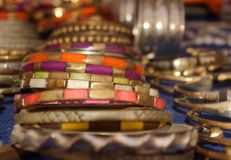 Bracelets marocains Photo libre de droits