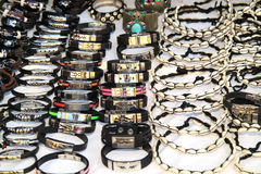 Bracelets and necklaces Royalty Free Stock Images