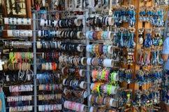 Bracelets and souvenirs Stock Photography