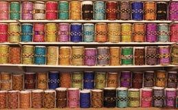 Bracelets sur l'affichage Image stock