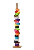 Bracelets sur le stand Photographie stock libre de droits