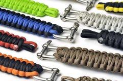 Bracelets of survival Stock Photo