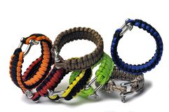 Bracelets of survival Royalty Free Stock Photos
