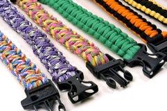 Bracelets of survival Stock Photos