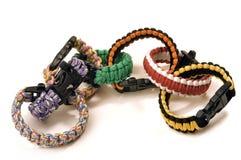 Bracelets of survival Royalty Free Stock Photos