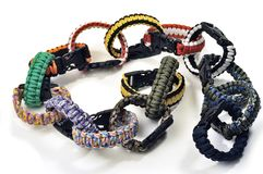 Bracelets of survival Royalty Free Stock Photography