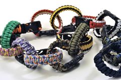 Bracelets of survival Stock Images