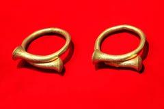 Bracelets tribals des personnes de Nagaland Images stock