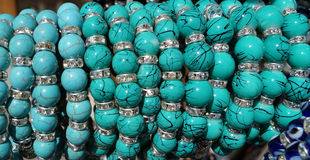 Bracelets turcs de souvenir Images stock