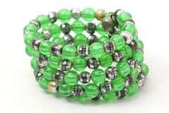 Bracelets verts Photos libres de droits