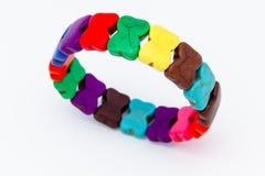 Bracelets on a white background Stock Image