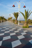 Brach promenade Royalty Free Stock Image