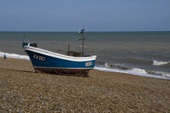 Brached fishing boat Royalty Free Stock Photos