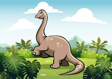 Brachiosaurus Stock Photo