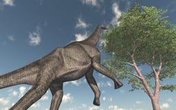 Brachiosaurus do dinossauro ilustração stock