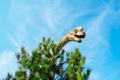 Brachiosaurus w Novi Sad Dino parku Obrazy Royalty Free