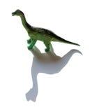 Brachiosaurus zabawka z cieniem Zdjęcie Stock