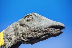 Brachiosaurusdinosauriehuvud Royaltyfria Bilder