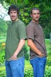 bracia przystojni Zdjęcie Royalty Free