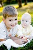 bracie jabłczana siostro Obraz Royalty Free