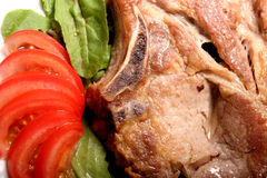 Braciole di maiale Fotografie Stock