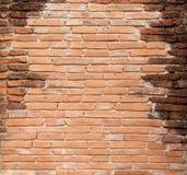 Brackground velho da parede de tijolo Imagens de Stock Royalty Free