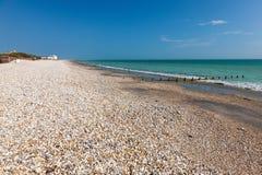 Bracklesham Bay West Sussex, England Stock Images