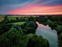 Brackley United Kingdom. Taken in 2017 taken in HDR Royalty Free Stock Photo