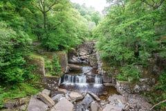 Bracklinn在Callander,小镇附近在斯特灵,苏格兰理事会地区下跌,风景自然风景  图库摄影
