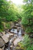 Bracklinn在Callander,小镇附近在斯特灵,苏格兰理事会地区下跌,风景自然风景  库存图片