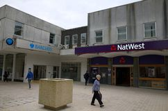National Westminster and Barclays Banks in Bracknell, England Stock Image