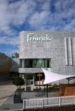 Side View of Fenwick Department Store in Bracknell, England Royalty Free Stock Photos