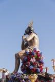 Bractwo gwiazda, Święty tydzień w Seville Obrazy Royalty Free
