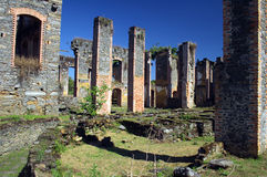 Bracuhy`s mill 10. Ruins of Bracuhy`s mill at Angra dos Reis, Rio de Janeiro - Brazil Royalty Free Stock Photo