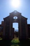 Bracuhy`s mill 2. Ruins of Bracuhy`s mill at Angra dos Reis, Rio de Janeiro - Brazil Stock Photo