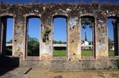 Bracuhy`s mill 4. Ruins of Bracuhy`s mill at Angra dos Reis, Rio de Janeiro - Brazil Royalty Free Stock Photos