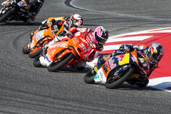 BRAD BINDER. Moto 3. Monster Energy Grand Prix of Catalunya MotoGP. Barcelona, Spain - June,14, 2015 Stock Photography