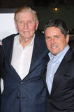 Brad Grey, Sumner Redstone Royalty Free Stock Image