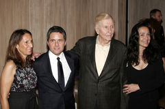 Brad Grey and Sumner Redstone Stock Photography