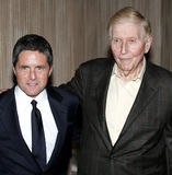 Brad Grey and Sumner Redstone Royalty Free Stock Images