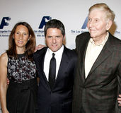 Brad Grey and Sumner Redstone Royalty Free Stock Photography