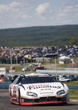 Brad Keselowski sur la piste Photo stock