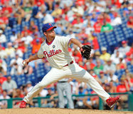 Brad Lidge - Phillies relief pitcher Royalty Free Stock Photo