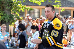 Brad Marchand of the Boston Bruins Royalty Free Stock Image