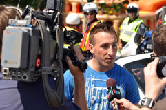 Brad Marchand of the Boston Bruins Stock Photo