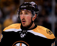Brad Marchand Boston Bruins Stockfotos