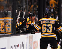 Brad Marchand and Shawn Thornton. Royalty Free Stock Images