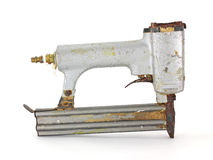 Brad nail gun Royalty Free Stock Photography